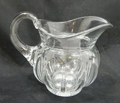Antique Heisey Glass Colonial Crystal Pitcher