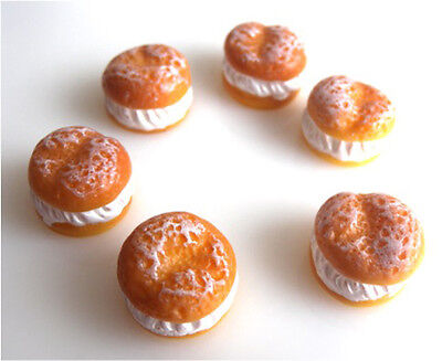 Gorgeous Resin Fresh Cream Cakes Flatback Embellishments - Fast Free P&p