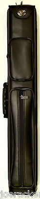 NEW 2016 COMBO CASE 3x5 Pool Cue Case - Model C35A - Spring Loaded 2016 Model