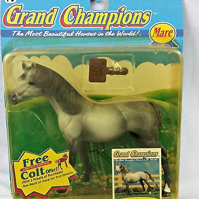 Grand Champions 1995 Tennessee Thoroughbred Mare Vintage Horse Play Set NIB