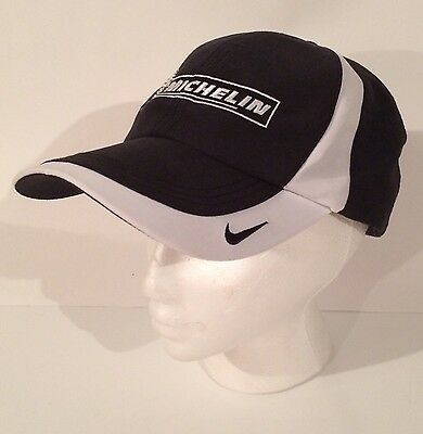 Michelin Man Nike Golf Hat Race Tire Cap Dri-fit Sweatband Swoosh Promo Sport Ad