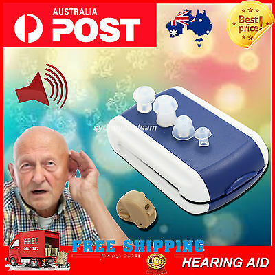 New Hearing Aid Aids Best Sound Amplifier Adjustable Tone Stealth Invisible