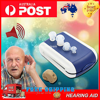 New Hearing Aid Aids Sound Amplifier Adjustable Tone Stealth Invisible typeB