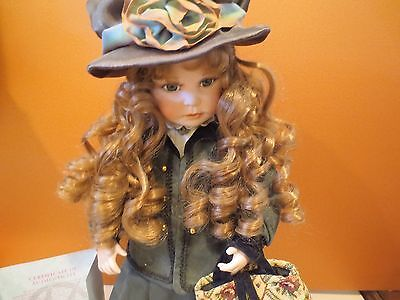 """EMMA JOSEPHA"" PORCELAIN  Doll from the Marie Osmond Collection~Sonia Bryer"