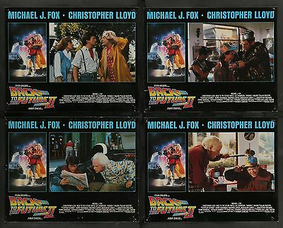 BACK TO THE FUTURE II lobby card set