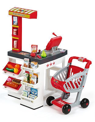 Smoby Childrens Play Supermarket Kids Superstore Roleplay Shop