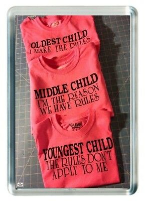 Older Middle Young Child Make Or Break Rules Quotes Saying Gift Fridge Magnet