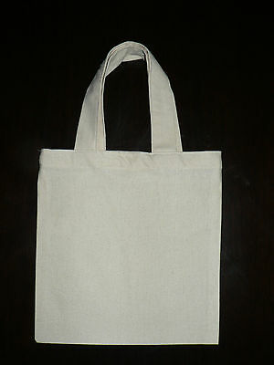 Calico bags with handle ( bulk)  5 , 10 , 15 ,25, 50 (20 cm x 22 cm)