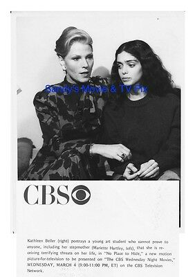 KATHLEEN BELLER, MARIETTE HARTLEY Terrific ORIGINAL TV Photo NO PLACE TO HIDE
