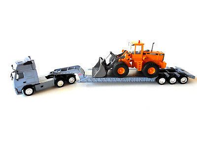Volvo L150C 1:87 Scale Models Die cast metal model Lowloader Collectable