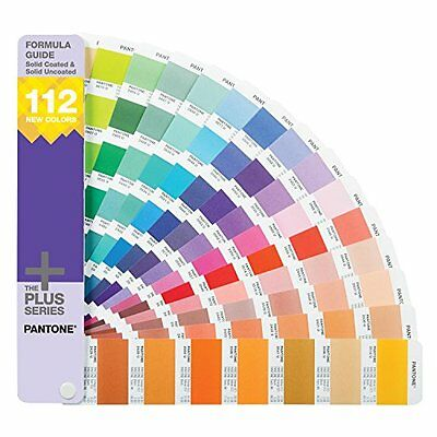 NEW PANTONE FORMULA GUIDE Coated & Uncoated Supplement FREE SHIPPING