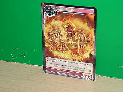 FOW Force of Will - TTW-019 Barrier of Flame