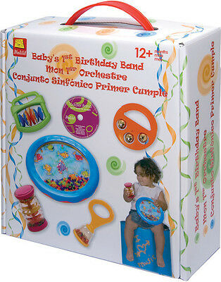 Halilit Baby's First Birthday Band - Musical Band Set - NEW