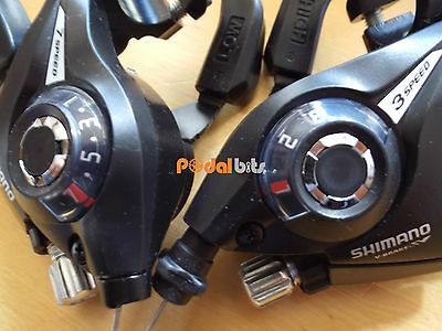 Shimano ST-EF51 Altus Bike 3 x 7/8 Gear Brake STi 21/24 Speed Shifter Levers