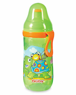Nuby Busy Pop-Up Sipper Cup 12oz / 360ml 18 months +