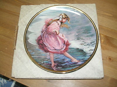 """""""Heart of a Child"""" by Alan Murray Collectible Plate #7737 MINT"""