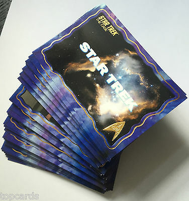 STAR TREK TOS 50th ANNIVERSARY The Cage Gold Cards - Complete Your Set nos 1-35