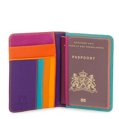 Mywalit  Leather Passport Cover Travel Organiser  283