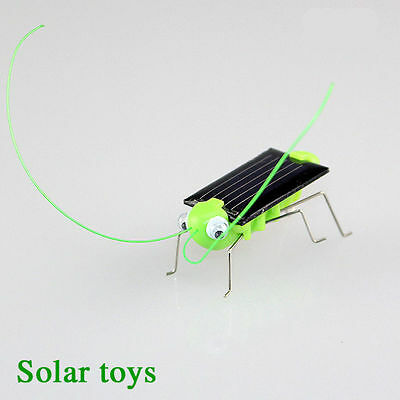 Toy Fun Solar Power Robot Insect Locust Grasshopper