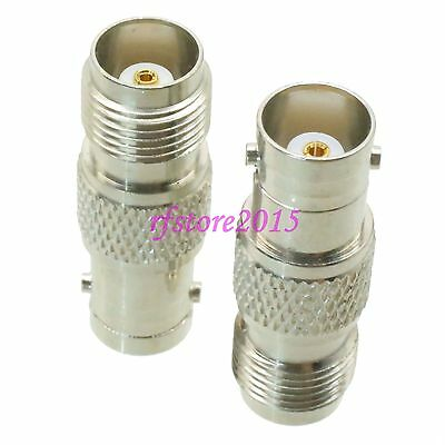 1pce Adapter Connector BNC female jack to TNC female jack for Radio Antenna