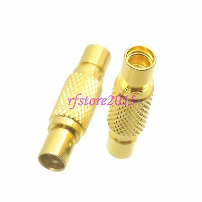 1pce Adapter Connector MMCX female jack to MMCX female jack for wireless