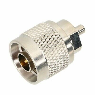 1pce Adapter Connector N male plug to SMB male plug straight for router