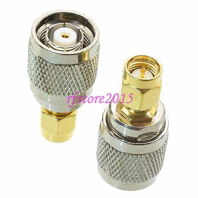 1pce Adapter Connector RP-TNC male jack to SMA male plug for Wireless WiFi