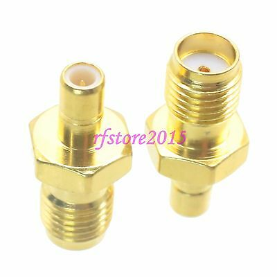 1pce Adapter Connector SMA female jack to SMB male plug for Antenna router
