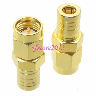 1pce Adapter Connector SMA male plug to SMB female jack for Antenna router