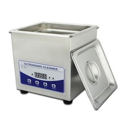 1.3L Professional Digital Ultrasonic Cleaner Machine with Timer Heated Cleaning