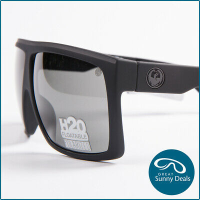 NEW Dragon FAME H2O FLOATING Mt Blk/Grey POLARISED Sunglasses (720-2371) RRP$229