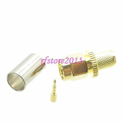 1pce Connector SMA male plug crimp RG8X RG-8X LMR240 RF COAXIAL straight