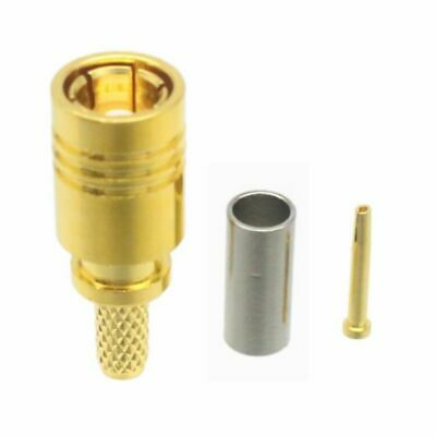 1pce Connector SMB female jack crimp RG316 RG174 LMR100 RF COAXIAL Straight