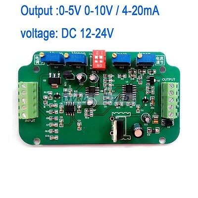 0-10V / 4-20mA Load Cell sensor Amplifier Transmitter voltage current converter