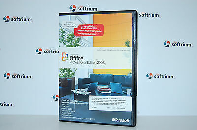 Microsoft Office 2003 Professional Vollversion/ Ms Office 03 Pro Sb/oem/osb