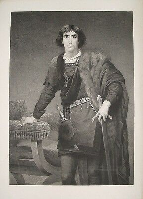 Edwin Long Henry Irving Hamlet Shakespeare Theater Schauspieler actor London