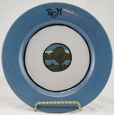 "Saturday Evening Girls Seg 8.5"" Salad Plate By Sara Galner Treed Landscape 1921"