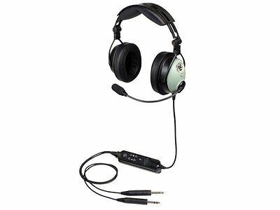 David Clark DC ONE-X Pilot Aviation Headset - GA Plugs & Bluetooth - 43102G-01