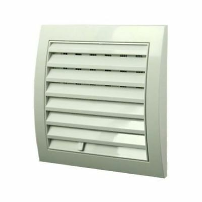 Air Vent Grille with Adjustable Shutter Open and Close Ventilation Cover Grid