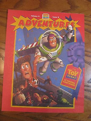 Burger King - Disney Toy Story - Adventures Leaflet - Vol. 6 Issue 8 - 1995