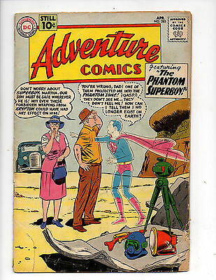 Adventure Comics #283 (1961, DC) 1st App General Zod & Phantom Zone, Swan, G/G+