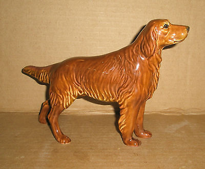 Dog Figurine Irish Setter /Haegar ? Finnish ?