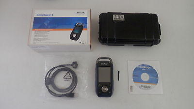 Magellan Thales MobileMapper 6 Data Collector GPS GIS Bluetooth Camera software