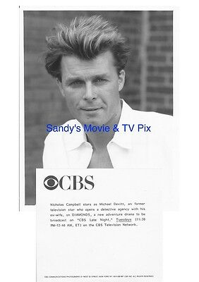 NICHOLAS CAMPBELL Terrific ORIGINAL TV Photo DIAMONDS