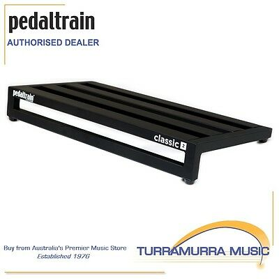 PedalTrain Classic 2 Guitar Pedal Board with Tour Case / Hard Case