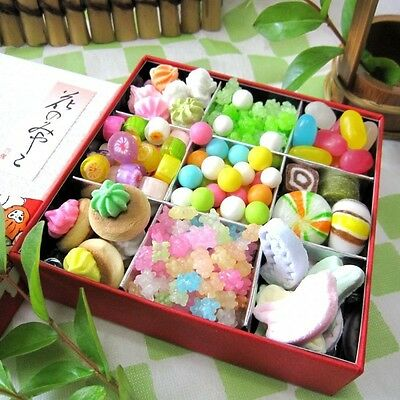 """Kyoto Traditional Sweets Assortment """"Kyoto Flower"""" 9 types Konpeito candy f/s"""
