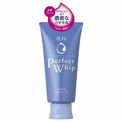 NEW SHISEIDO Perfect Whip Face Wash 120g Cleansing Foam Facial Cleanser F/S