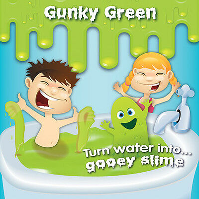 Slime Baff - Gunky Green 150g |From the makers of Gelli Baff