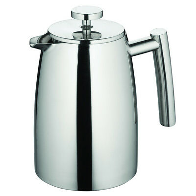 100% Genuine! AVANTI Modena S/S Twin Wall Coffee Plunger 1L 8 Cup! RRP $115.00!