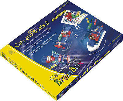 Cambridge Brainbox Cars and Boats Electronics Kit For Children NEW